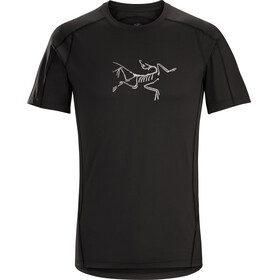 Arc'teryx M's Phasic Evolution Crew SS Shirt black